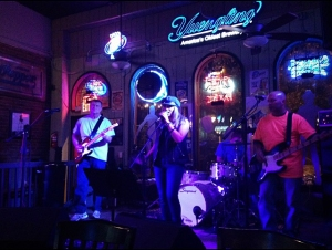 Performing at a benefit concert at Daddy Billys in Tullahoma, TN with my band!