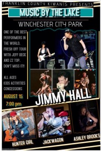 Played with Jack Wagon and Ashley Brooks opening for Jimmy Hall!