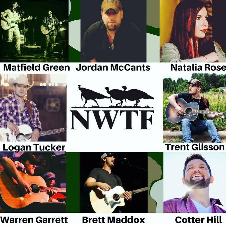 2018 NWTF artists
